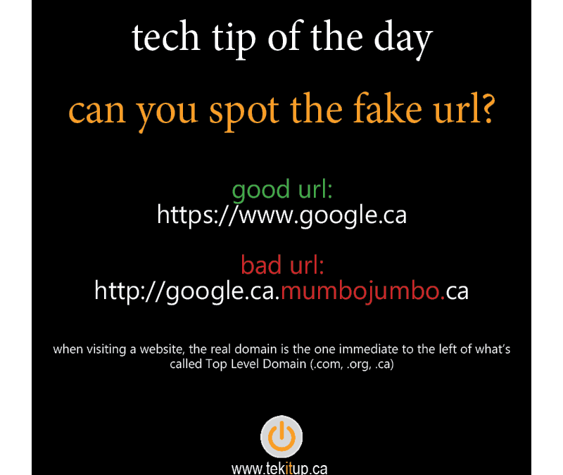 tech tip of the day